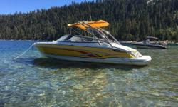 2006 Thunderbird-Formula F-240 BR 2006 Thunderbird-Formula F-240 BR model in great condition This boat looks relatively brand new! Currently with 157 hours on it and absolutely impeccable! Powered by a 6.2 Liter Bravo III motor. Formula prides itself on