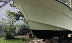 1981 Topaz 36 Sportfisherman Very Nice Interior & Exterior Completely Refurbished Twin Cummins Diamond Series 1194 Hours Pt 1177 Starboard Drip Less Shafts Loads Of Teak Bathroom Sleeping Quarters Dining Lounge Kitchenette Tuna Tower Out Riggers NC