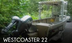 Actual Location: Seabeck, WA - Stock #109452 - If you are in the market for a combination fishing, look no further than this 1986 Westcoaster 22, priced right at $29,500 (offers encouraged).This boat is located in Seabeck, Washington and is in good