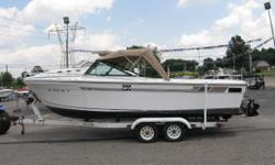 1986 SportCraft 230 Fisher, 1986 Sport Craft 230 Fisher with Trailer Category: Powerboats Water Capacity: 0 gal Type:  Holding Tank Details:  Manufacturer: Sport-craft Holding Tank Size:  Model: 230 Fisher Passengers: 0 Year: 1986 Sleeps: 0 Length/LOA:
