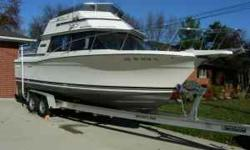 BOAT OWNER'S NOTES. This 1986 Carver Santa Cruz has aged gracefully. Wherever she docks she attracts attention, always with compliments. Her Teak is beautiful and well maintained. Her 260 HP Mercruiser drive is smooth and strong. She