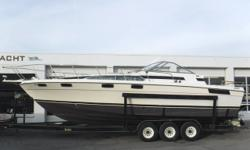 Twin Volvo Penta 260A V8 engines, no hour meters Port engine ? new long block in 7/2007 Twin Volvo Penta counter-rotating sterndrives Newer starboard shift cable New u-joints & bellows on drives in 7/2007 1986 Metal Craft 3-axle trailer w/electric brakes,