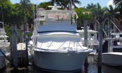 (LOCATION: Coral Gables FL) The Bertram 46 Convertible is a legendary fishing machine. One of the most popUlar convertibles ever designed she dominated the market for over a decade. This is a serious fisherman with flybridge, well equipped cockpit, and