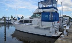 THIS OWNER IS HIGHLY MOTIVATEDThe gorgeous classic Bertram 42 Motor Yacht combines posh accommodations, dramatic lines, and the kind of quality that says it's a Bertram, and is responsible for a really wonderful ten year run. Inspired design and