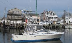 1986 29 Blackfin, clean and well taken care off. Great family and offshore boat. 2005 Yanmar 240hp Diesel Engine with 1300 hours (estimated) New Enclosure New Cushions New Electronics GreenStick 2016 Tower with sunshade, controls and seat