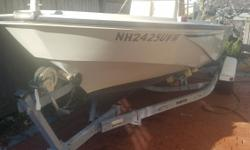 Here's your opportunity to own a Boston Whaler Classic 18' Outrage package powered by a desirable 2008 150 HP E-TEC outboard engine and a sitting on a very nice 2006 Magic Tilt roller trailer. This rig has been owned and operated by the same adults only