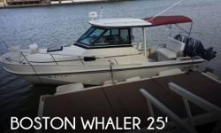 Actual Location: Honolulu, HI - Stock #110060 - If you are in the market for a walkaround, look no further than this 1986 Boston Whaler Revenge 25, priced right at $54,500 (offers encouraged).This boat is located in Honolulu, Hawaii and is in great