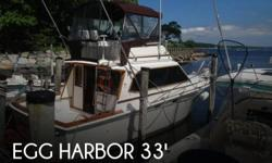 Actual Location: New Suffolk, NY - Stock #008256 - If you are in the market for a sportfish yacht, look no further than this 1986 Egg Harbor 33 Sportfisher, just reduced to $34,500 (offers encouraged).This vessel is located in New Suffolk, New York and is