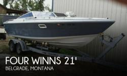 Actual Location: Belgrade, MT - Stock #089038 - Well Maintained! Newer Upholstery - Solid and Stable!!The Four Winns Liberator 211 is based of a performance style hull, giving you great solid riding boat! ****Key Features****-- New flooring and upholstery