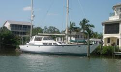 Motivated owner encourages all offers. (LOCATION: Bonita Springs FL) The Gulfstar 54 Motor Sailer is a big blue water sailing motor yacht with classic good looks, tons of room, and teak interior. She is built to carry you where ever you want to go