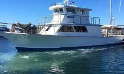 BIG PRICE REDUCTION FOR FAMOUS DIVE BOAT This 65' Harker's Island Rhode Craft is located in Rhode Island This dive boat was made famous in the book, Shadow Divers. She is located in Rhode Island, and has recently been restored to allow her to get back in
