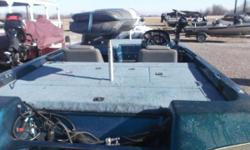UPDATE 1986 Hydra Sports Bass Boat has a Evinrude 150 HP motor on it now. This will make someone a real nice starter bass boat. Nominal Length: 18'