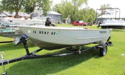 1986 Lowe Lunker V16 Jon Boat 1986 Lowe Lunker V16 Jon Boat is for sale. This is a Deep V that will take the rough water! Price of $1295.00 is for the boat alone, no trailer is included. Engine(s): Fuel Type: Gas Engine Type: Other
