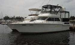 ***STK # 3949 ***For more information go to: WWW.HARBORVIEWMARINE.COM. or COPY THIS LINK >> http://www.harborviewmarine.com/1986-sea-ray-360-aft-cabin-inventory.htm?id=1736803&in-stock=11986 Sea Ray Aft Cabin TrawlerTwin Mercruiser 260 Engine Model: 5.7
