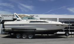 PRICE JUST REDUCED TO $19,900! Twin MerCruiser 454 cid 7.4L fresh-water-cooled inboard direct-drive engines, aprx 794 hours 1999 Williamson Ocean 3-axle trailer w/electric brakes, custom rims, side guides & spare tire Halon (3) Batteries w/switches ? new
