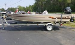 EAGLE FISH FINDER, LOAD GUIDES, SPARE TIRE Engine(s): Fuel Type: Gas Engine Type: Outboard Quantity: 1