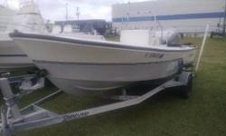 Includes Compass, Bimini, Rod Holders & trailer guide on. Nominal Length: 17' Engine(s): Fuel Type: Other Engine Type: Outboard Stock number: FL9766EG