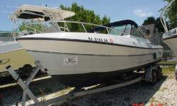 Great Boat with Trailer for Fishing Crabbing Ect.... Nominal Length: 22' Engine(s): Fuel Type: Other Engine Type: Stern Drive - I/O
