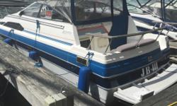 1987 Bayliner 2450 Cruiser Cabin w/ 230HP Volvo I/OGreat Condition, Classic Cruiser Engine(s): Fuel Type: Gas Engine Type: Stern Drive - I/O Quantity: 1