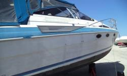 1987 Bayliner Marine Corp Avanti 3850 1987 Bayliner Avanti with sunbridge. Used last season. Never been in salt water. Was owned by mechanic. Forward and aft sleeping cabins. Could use a good cleaning. Side panels on canvas need some attention. Located at