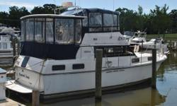 1987 Carver Yachts 3667 This 1987 Carver Motor Yacht has been kept in a freshwater marina at the top of the Chesapeake Bay for roughly 7 years. Great model with great space inside and out. There is a hard top over the aft deck for good protection and a