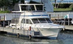 Motivated Seller! The Chris Craft 480 Catalina Double Cabin is a safe and strong family yacht. The Catalina is also a traditional yacht: wide beamed and seakindly, with enough room for the whole clan to cruise comfortably. The Catalina line features the