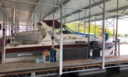 BOAT LOCATED IN LAKE OF THE OZARKS! SHOWN BY APPOINTMENT ONLY. TWIN MERC 7.4/300 HP*INBOARDS *Onan Generator* New Cabin Floor 2013* New Microwave 2013* New Stereo System 2013* New Toilet 2014* New A/C Pump 2014* New Trim Tabs 2014* New Water Pumps 2015*
