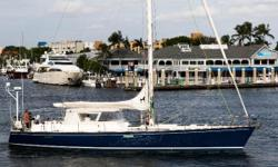 """Professionally maintained by the same captain since 1994, employed by a loving owner with an """"open checkbook"""" and continuous upgrades make her one of the finest """"Deerfeet"""" afloat. They cruised remote regions of the South Pacific in extreme"""