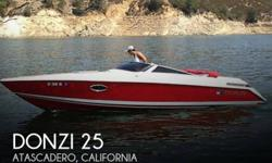 Actual Location: Atascadero, CA - Stock #100122 - If you are in the market for a high performance, look no further than this 1987 Donzi Z25, just reduced to $18,900 (offers encouraged).This boat is located in Atascadero, California and is in great