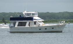 $50k price drop 5/16, this is a great deal, just in time for your summer cruise! This handsome sedan bridge trawler has twin Lehman's, is in great shape and ready to cruise.  The Golden Star 46 is a quality built Europa style sedan trawler with a