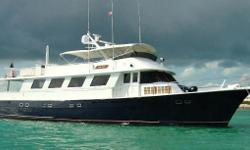 Next Deal is highly customized 90' Hatteras with a completely new hard wood interior that puts her original factory interior to shame. She boasts a spacious aft deck and an enormous flybridge with custom bar,all new canvas and seating. Other
