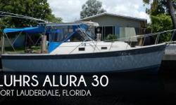 Actual Location: Fort Lauderdale, FL - Stock #110544 - If you are in the market for a walkaround, look no further than this 1987 Luhrs Alura 30, just reduced to $22,900 (offers encouraged).This boat is located in Fort Lauderdale, Florida and is in good