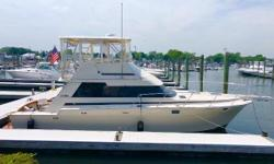 What a great opportunity to purchase a classic sport fish that has been completely updated. Impulse is turnkey ready for her next owner. Two staterooms, one head layout. With ONLY 800 ORIGINAL HOURS, she has plenty of life left. She is easy to view & must