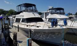This boat has the interior volume of a much larger boat and is great for weekending or extended cruising with the comforts of home. Nominal Length: 36' Length Overall: 36.2' Max Draft: 3' Engine(s): Fuel Type: Other Engine Type: Inboard Draft: 3 ft. 0