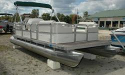 "NEW Winter Price ONLY $4,995! ""SAY HELLOTO A GOOD BUY""!! The work has already been done for youthis pontoon has new interior and new carpetand is priced for a quick sale. It is already to go for pleasure cruising and entertaining. You like the boat, you"