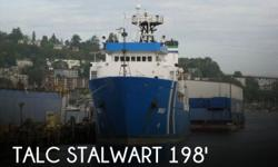 Actual Location: Seattle, WA - Stock #084726 - If you are in the market for an utility, look no further than this 1987 Tacoma Stalwart T- AGOS-12, just reduced to $1,500,000 (offers encouraged).This vessel is located in Seattle, Washington and is in great