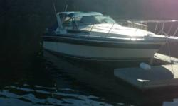 1987 Wellcraft St Tropez 32 Feet Long Comes With Trailer Runs Great Great Condition Many Extras Twin 5.7 Liter Generator it is separate from the boat electrical system along with the cord to plug it in Mercruiser 260 Hp 25 Hp Trolling Motor With Separate
