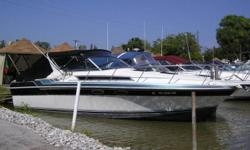 Nice boat with a big deck for entertaining and sleeps six in the cabin. Beam: 11 ft. 8 in. Compass; Stove; Vhf radio; Stereo; Bimini top; Shore power; Fridge; Shower; Swim platform;