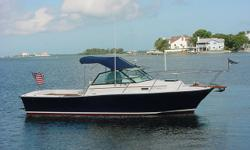 ACCOMMODATIONS & LAYOUT: This 1988 Rampage 24 is a little bit of Heaven. She has always been kept undercover. The vessel is meticulously maintained updated and customized by a very knowledgeable owner. Fresh hull paint in 2009 (Flag Blue Imron). Her