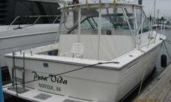 """New Listing...more info coming soon! Category: Powerboats Water Capacity: 0 gal Type:  Holding Tank Details:  Manufacturer: Tiara Yachts Holding Tank Size:  Model: 3100 Open Passengers: 0 Year: 1988 Sleeps: 0 Length/LOA: 31' 0"""" Hull Designer:  Price:"""
