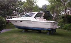 Description The Tiara's 3300 Open is a versatile family cruiser whose muscular profile quality construction and dependable inboard power make her an attractive choice. She's built on a rugged modified-V hull with cored hull sides generous beam and a