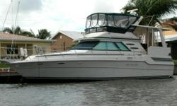 Overview This is the one you have been looking for. She has been well maintained since new and it shows. She has the speed comfort space and a great layout that will make for enjoyable cruising. She will cruise at 20 knots with her 375 HP Cats that have