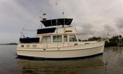 Description Over 1500 Grand Banks' 42's were built from 1975-2004. The 42' is the most successful yacht design ever produced! This yacht has the popular 2 stateroom layout with a laundry room and a nice wide open salon with the galley down. A large master