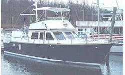 This is a 48' Albin North Sea Cutter. This great yacht could be the ultimate cruising vessel. With a great looking dark blue hull thiscould turn head at your local club or cruising the coastline.She was a Ray Hunt designed hull, great ride and