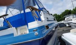 ****ALL Serious OFFERS Considered ****, In GOOD Condition, 1988, BAYLINER, 2455 Ciera. Always Maintained by a marina, OMC 305 Cu', 225 HP, Motor & OMC Drive, Cabin Boat, Fiberglass, Blue & White, Swim Platform, Stove Refrigerator, Beam:8', Weight: 3,675