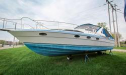 This is a lot of boat for the price! Check out this 1988 Bayliner Avanti 3455 - you won't be disappointed. Features include GPS, 2 tvs, ice maker, blender, extra aft fridge, fenders/lines, windlass, air conditioner, manual head, 3 batteries, 4 fuel tanks,
