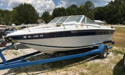 WATER READY! 4.3 MERCRUISER Nominal Length: 19' Length Overall: 19' Beam: 96 ft. 0 in.