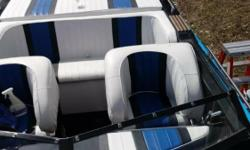 Looking for a go fast boat with a classic hull design? Don't look any further! This boat has been all redone inside and out! This is the 25 Convincor from Checkmate Boats. All newly reupholstered, this boat is as good looking as it is fast! It is powered