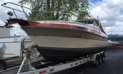 Trades considered.CANVAS BIMINI TOP CAMPER CANVAS MOORING COVER SIDE/ AFT CURTAINS DECK ANCHOR DAVIT ANCHOR W LINES BOW PULPIT W RAIL SPOTLIGHT WINDSHIELD WIPERS ELECTRICAL 12 VOLT SYSTEM 30 AMP DOCKSIDE POWER BATTERY BATTERY DOCKSIDE CORD ELECTRONICS