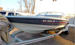 Actual Condition The owner has brought in his Ebbtide speedboat for CSI to sell. This is a one owner vessel. She looks well kept however the 350 Magnum V-8 Alpha inboard had a crack in the block, as a remedy the owner epoxied the crack and has been